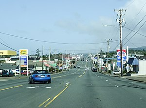 Newport, Oregon - U.S. Route 101 in Newport