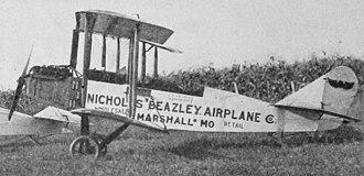 Standard J - Nicholas-Beazley Standard photo from Aero Digest September 1926