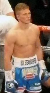 Nick Blackwell British boxer