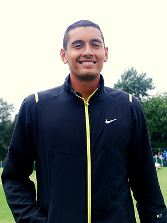 Nick Kyrgios - Kyrgios at the 2014 Wimbledon Championships