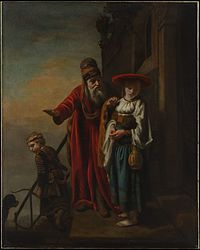 Nicolaes Maes - Dismissal of Hagar and Ishmael.jpg