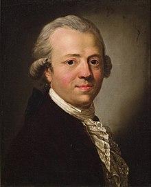Friedrich Nicolai, Gemälde von Ferdinand Collmann nach Anton Graff, 1790, Gleimhaus Halberstadt (Quelle: Wikimedia)