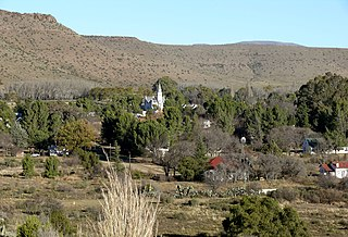 Nieu-Bethesda Place in Eastern Cape, South Africa