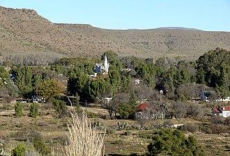 Nieu-Bethesda - View of Nieu-Bethesda