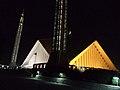 Night view of Faisal Mosque Islbd.jpg