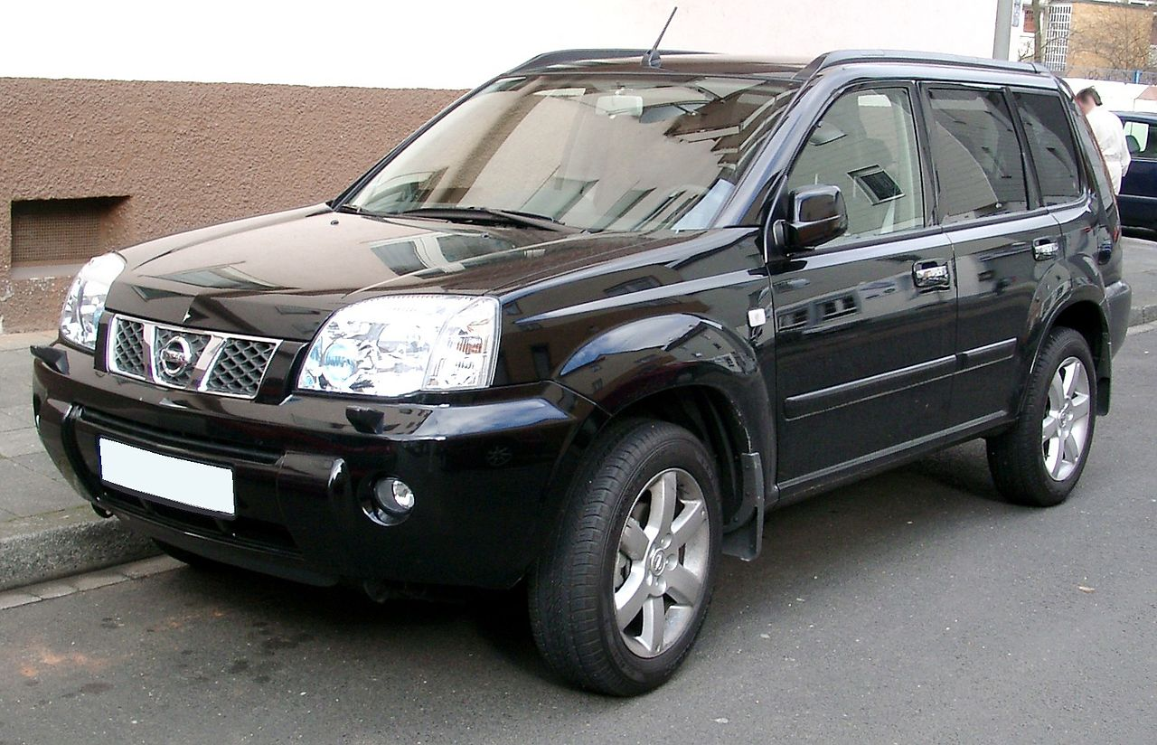 file nissan x trail front wikimedia commons. Black Bedroom Furniture Sets. Home Design Ideas