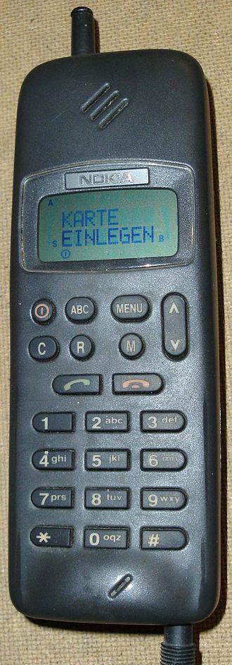 Nokia 1011 - Image: Nokia 1011