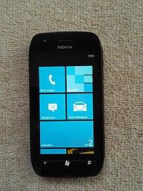 Nokia Lumia 710 front ON.jpg