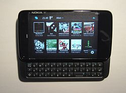 Nokia N900 media player.jpg