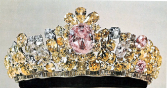 Noor-ul-Ain - The Noor-ul-Ain mounted in a tiara of the same name