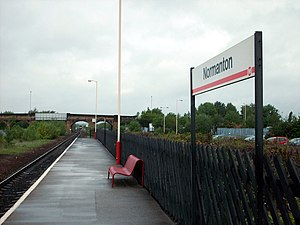 Normanton railway station - Platform 1