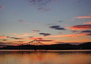 J. C. Van Horne Bridge - J.C. Van Horne Bridge in Campbellton over the Restigouche River