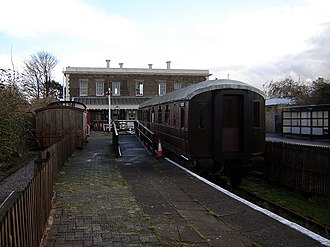 North Woolwich - Image: North woolwich railway museum 1