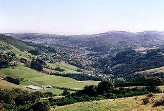 North East Valley Suburb in Dunedin City, Otago, New Zealand