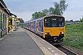 Northern Rail Class 150, 150146, platform 2, Ashton-under-Lyne railway station (geograph 4005957).jpg