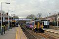 Northern Rail Class 156, 156427, Rainhill railway station (geograph 3819326).jpg