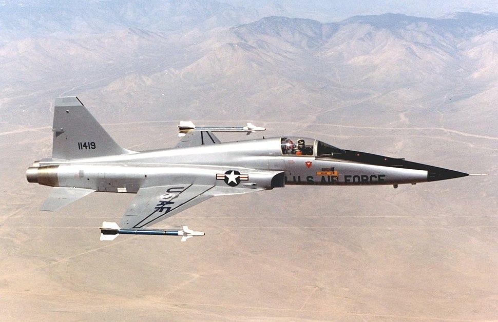 Northrop F-5E (Tail No. 11419) (cropped)