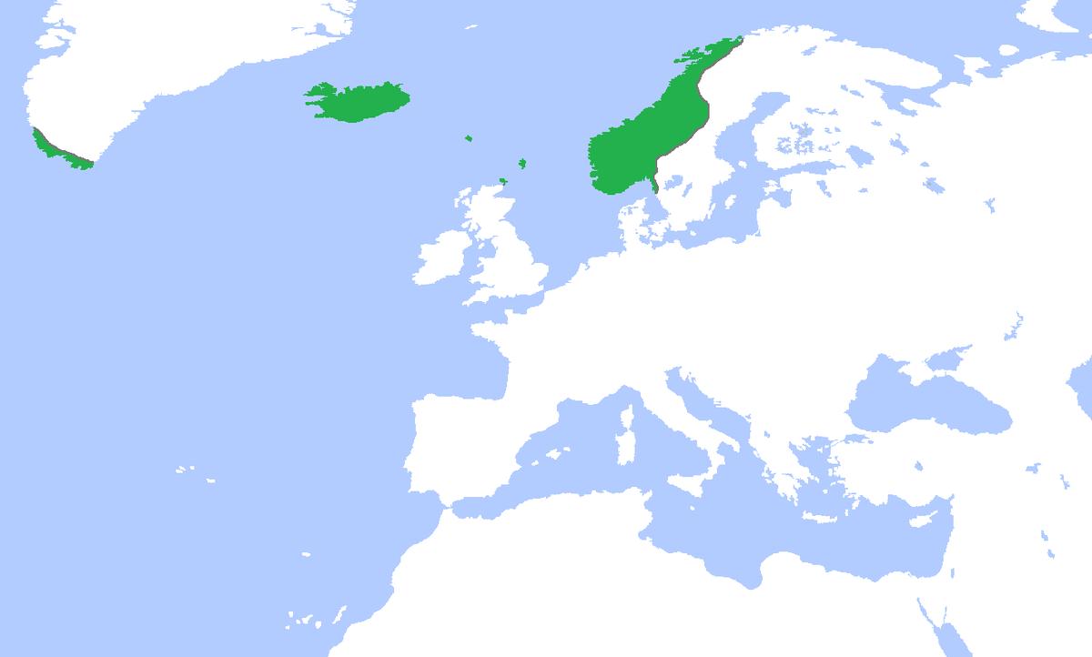 kart over vestre gøtaland Norgesveldet – Wikipedia kart over vestre gøtaland
