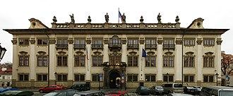Ministry of Culture (Czech Republic) - Image: Nosticky palac
