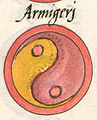 Notitia Dignitatum, Clm 10291, Image No. 273, Armigeri Shield Pattern.jpg
