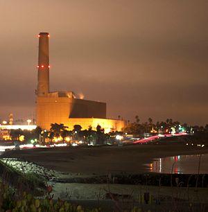 Encina Power Station - Image: Nrg