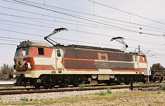 PKP class ET22 - The E-1006 of 201Eg type used in Morocco.