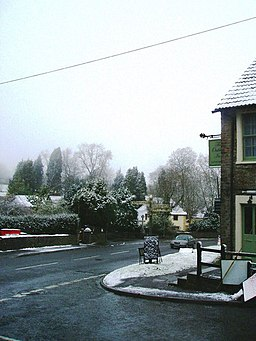 Oakhill in the snow - geograph.org.uk - 1423053.jpg