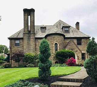 Ridgewood Historic District Residential area in Canton, Ohio, US