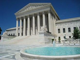 United States Supreme Court Building - Modern view of the Supreme Court Building