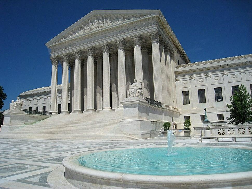 Oblique facade 3, US Supreme Court