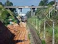 Obras de duplicação da ferrovia na Variante Boa Vista-Guaianã km 225 em Indaiatuba - panoramio.jpg