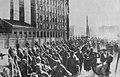 Ochotnicy na wojnę polsko-bolszewicką na ul. Białostockiej sierpień 1920.jpg