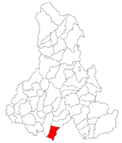 Location of Ocland