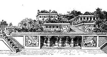 Hanging gardens of babylon wikipedia the free encyclopedia for Hanging gardens of babylon definition