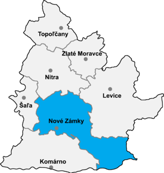 Andovce - Nové Zámky District in the Nitra region