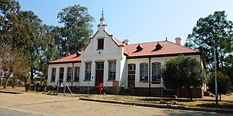 Randfontein - Mining Commissioner and Telegraph Office