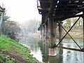 Old railway bridge across the Wye, Redbrook - geograph.org.uk - 289430.jpg