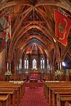 Inside Old Saint Pauls church, Wellington, New Zea...