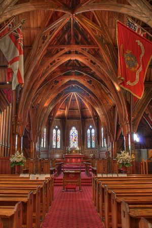 Old St. Paul's, Wellington - Nave in Old St. Paul's