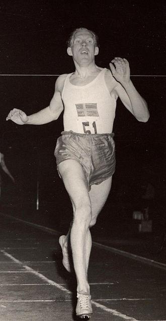 Olle Åberg - Olle Åberg in 1949
