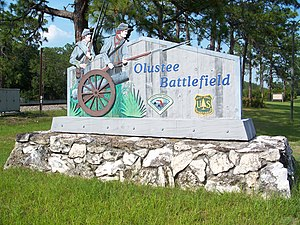 National Register of Historic Places listings in Baker County, Florida - Image: Olustee Battlefield Historic State Park 01