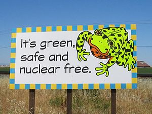Anti-nuclear movement in California - The second billboard corresponding to the one above