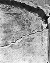 oost muur in zijbeuk - delden - 20048121 - rce
