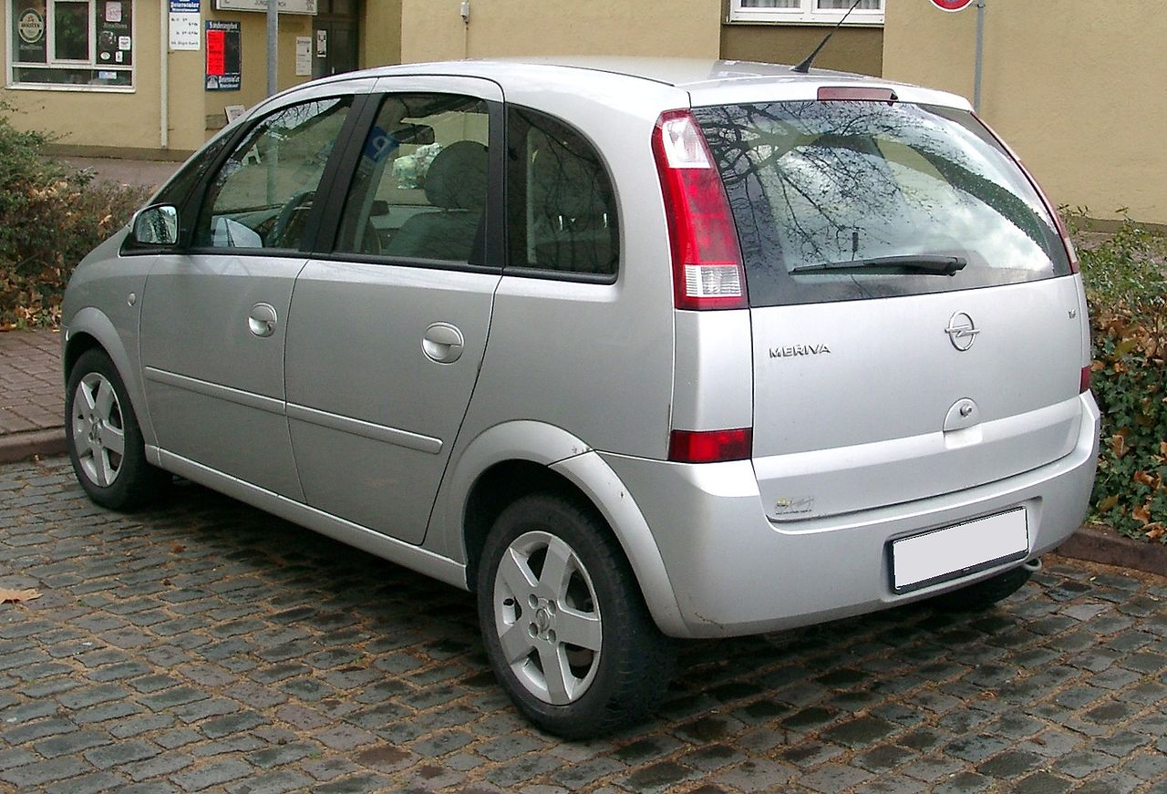 File Opel Meriva Rear 20071126 Jpg Wikimedia Commons