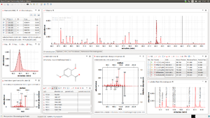 "Screenshot of OpenChrom Community Edition version 1.1.0 ""Diels"""