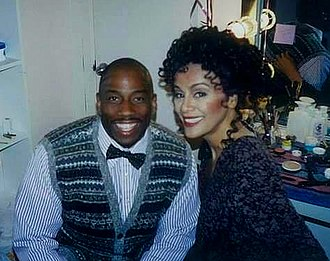 Marilyn McCoo - McCoo with opera star and activist Stacey Robinson.