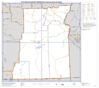 Oregons 60th House district Legislative districts in the state of Oregon