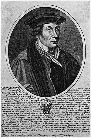 Fine, Oronce (1494-1555)