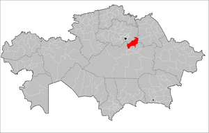 Osakarov District Kazakhstan.png
