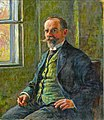 Oscar Achenbach - Selbstporträt mit grüner Weste.jpg